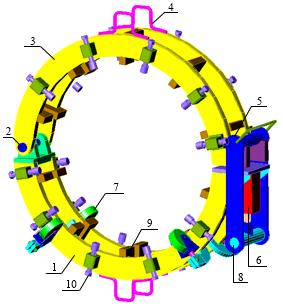 Гидравлический центратор